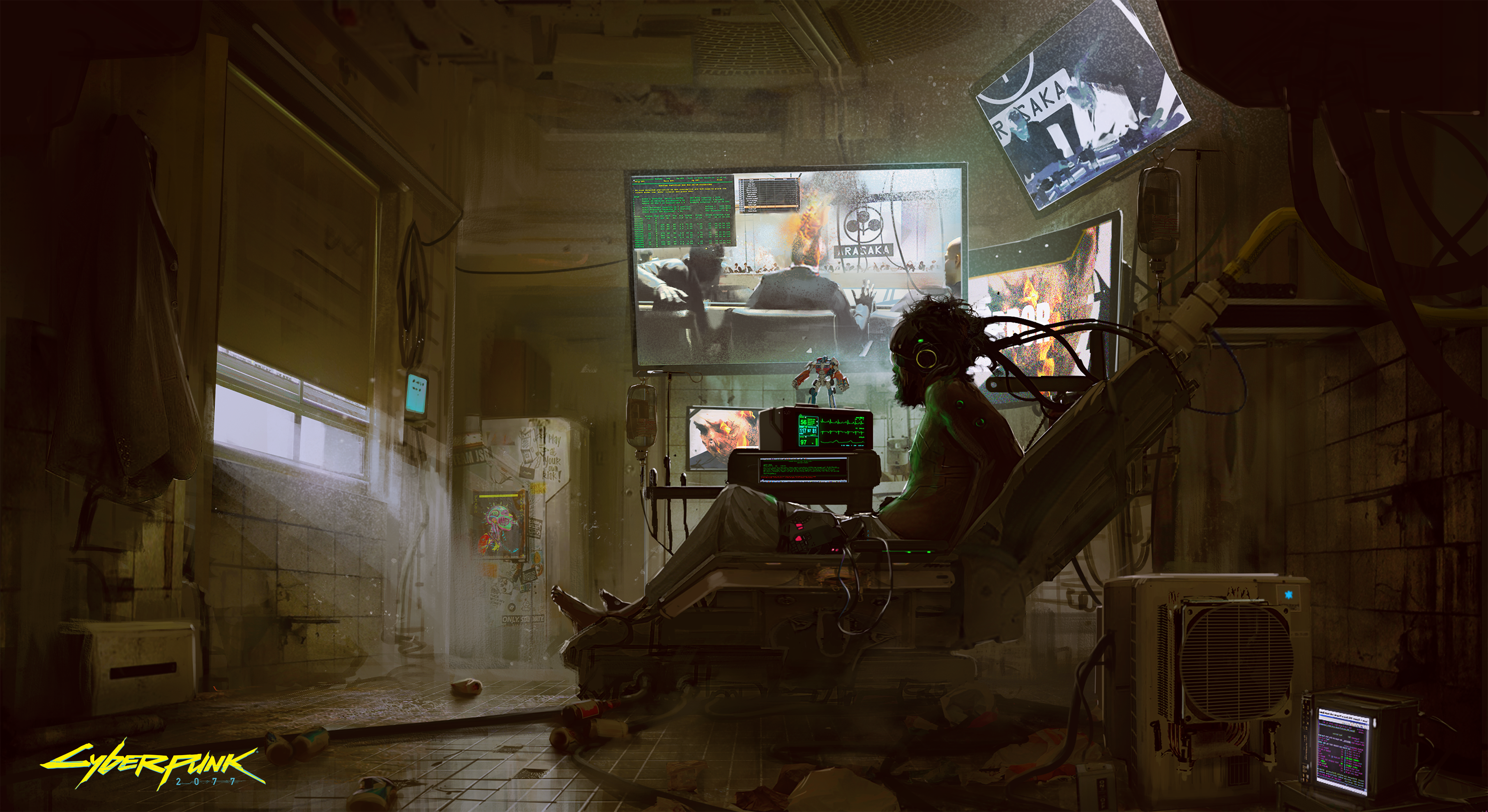 Concept Art Cyberpunk 2077 From The Creators Of The Witcher 3 Wild Hunt