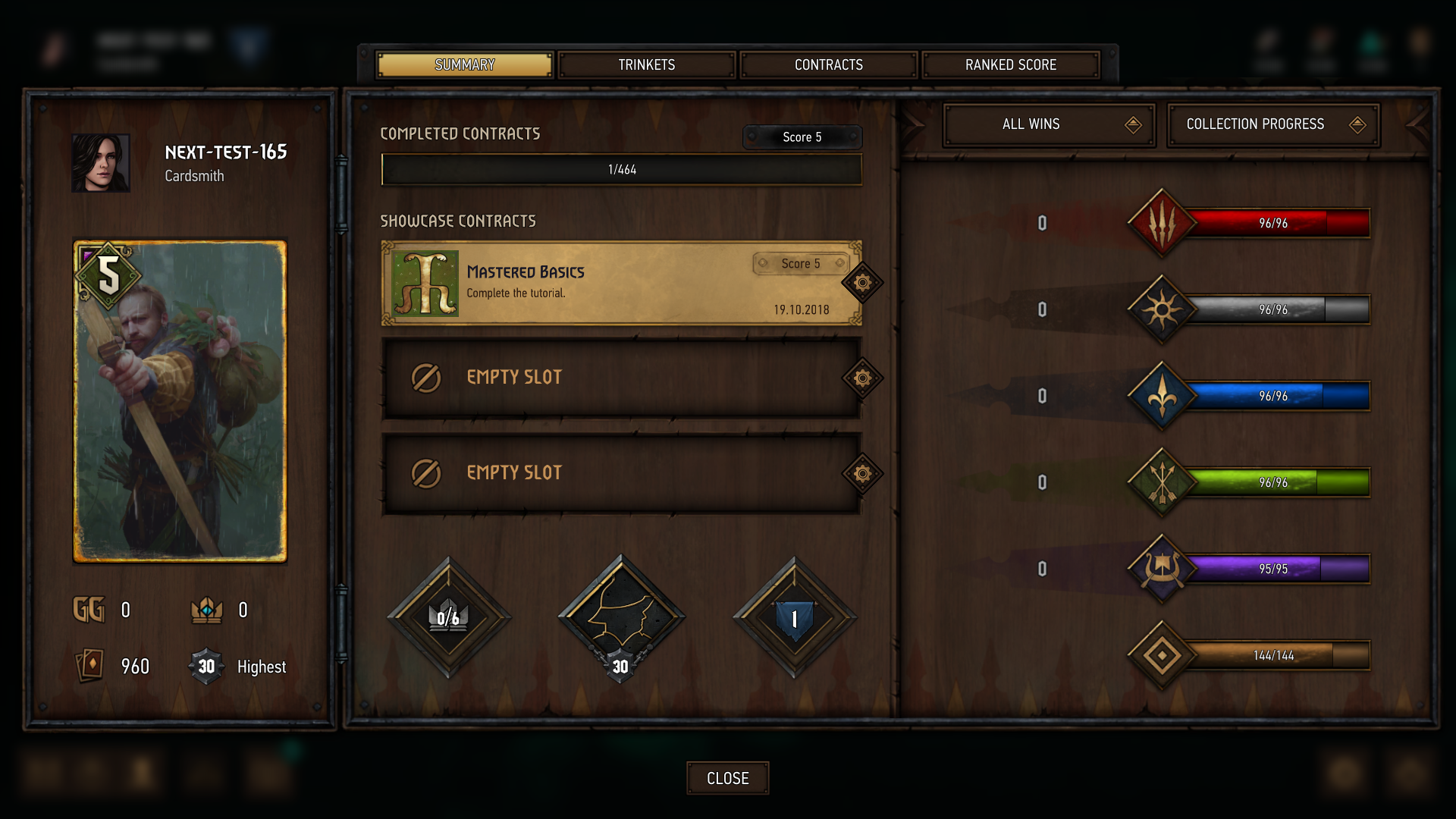 Updated rank and progression system — what's new? - GWENT®: The