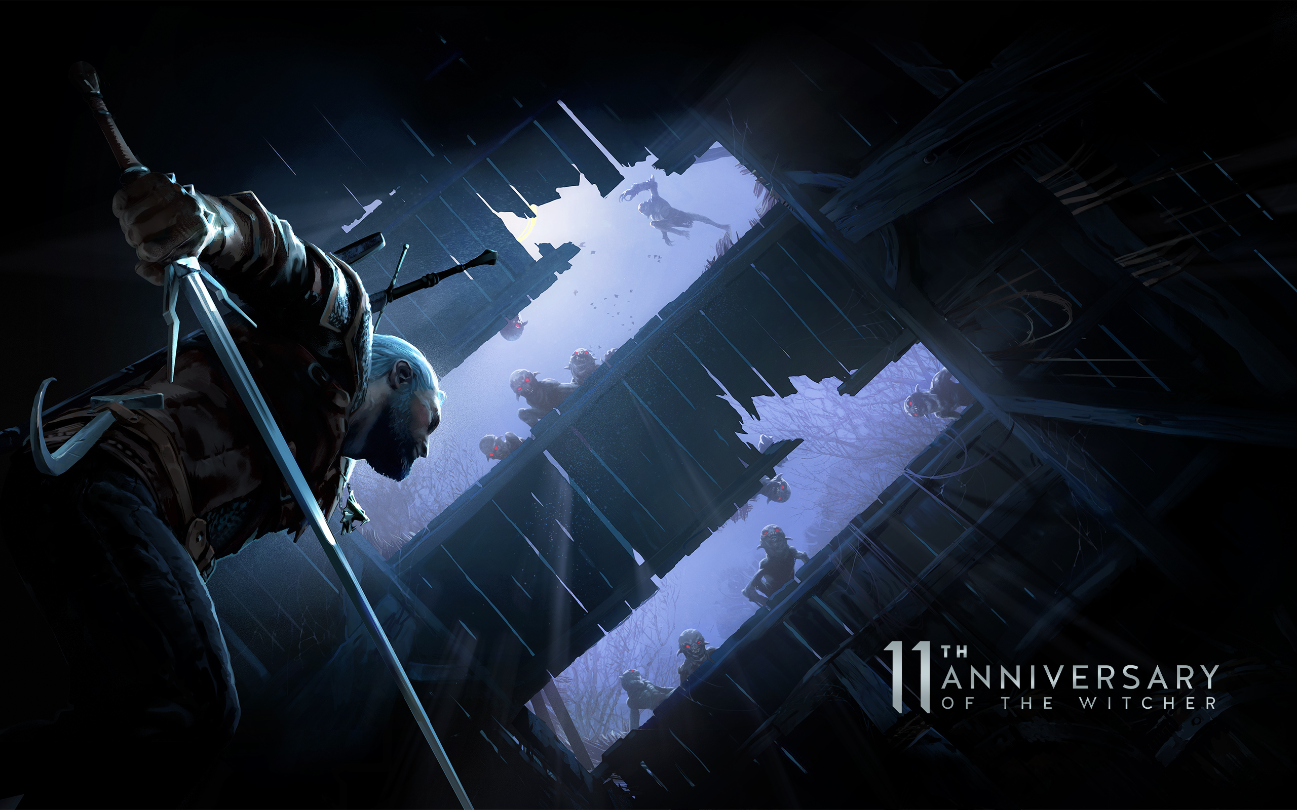 Witcher 11th Anniversary Wallpapers Cd Projekt Red